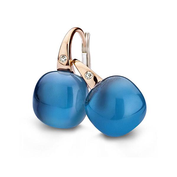 Bigli - London blue earring