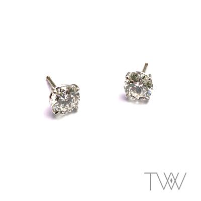 TVW Creaties - oorbellen diamant #14
